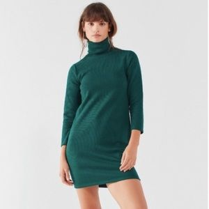 Urban Outfitters 3/4 Sleeve Turtleneck Dress